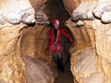 Rivière souterraine de MONTRÉSOR